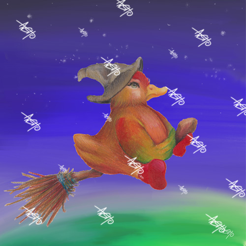 snozzleberryduck witch 500_500